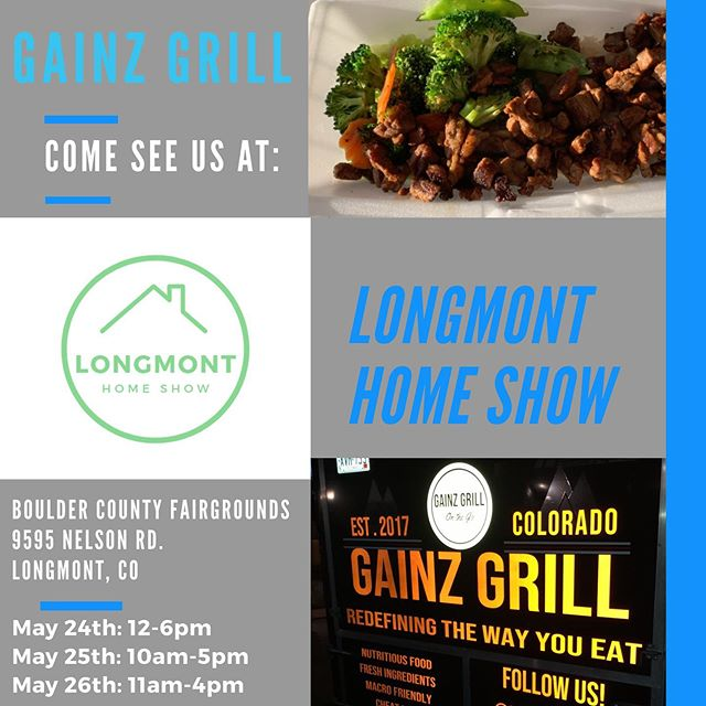 We'll be serving food all weekend at the Boulder County Fairgrounds! Come out and see us😋  #Longmont #bouldercountyfairgrounds #Bouldercounty #healthyfood