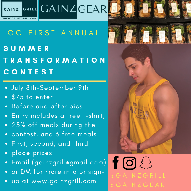 Gg First Annual - 8 Week Transformation Contest