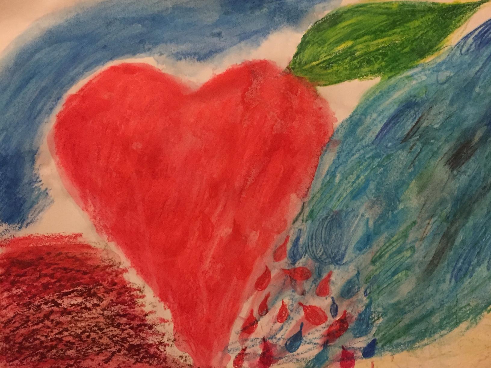 Heart of blood and tears by Anahata Giri