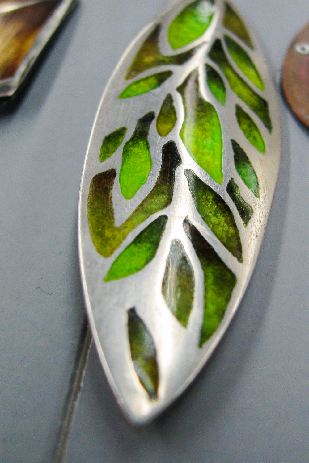 Basse taille sample from Linda Darty Enamel Workshop