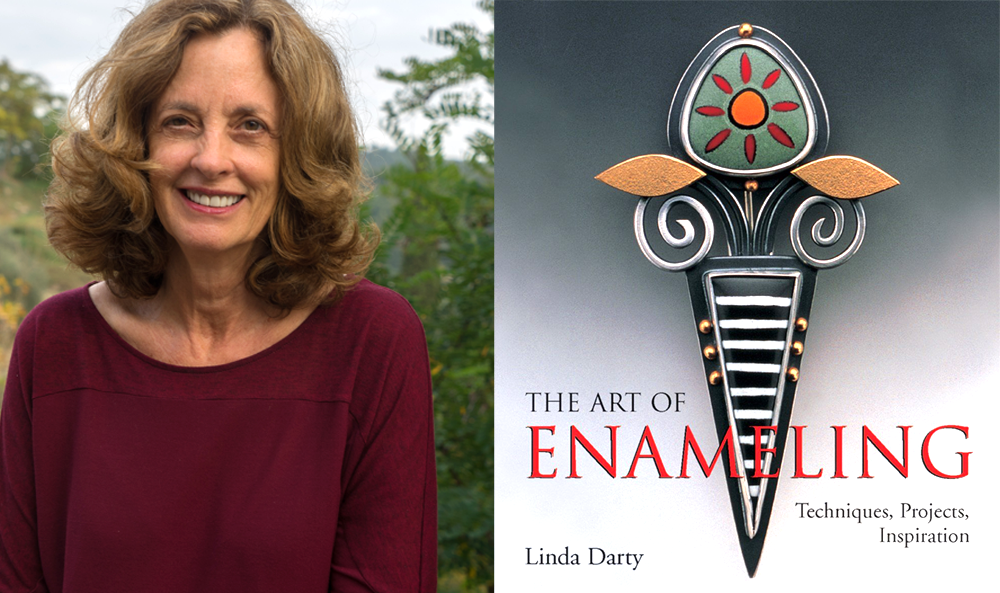 Enamelist Linda Darty & her book The Art of Enameling