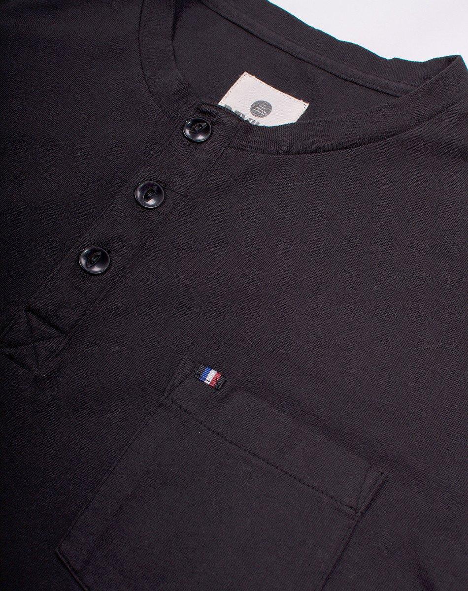 Shirts_Bowside_SS_Henley_Flat_Black_Detail_72DPI_3b53f60d-a059-445d-8283-92fd2bb392ff.jpg