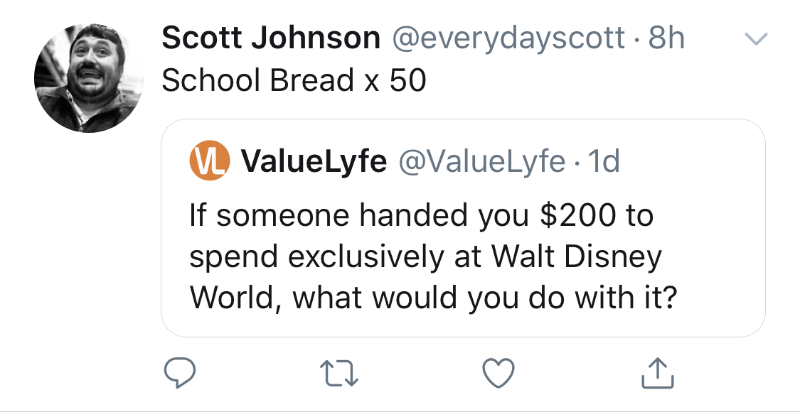 I'm honestly worried about @everydayscott or did he and schoolbread legendary influencer @HoCoHowie just become best friends?