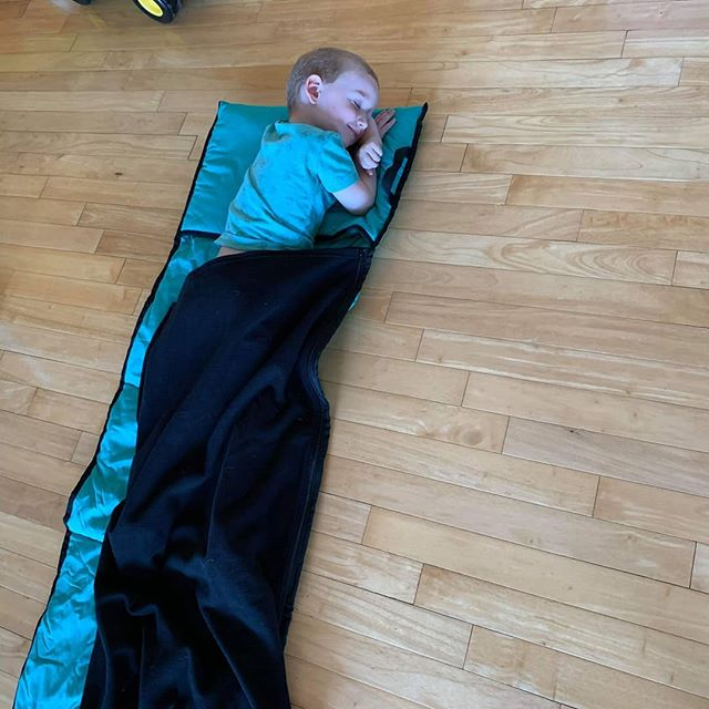 How gorgeous does this little Joey look in his new green Kozy Koala Sleepmat! Thanksso much @emilyestitt for the beautiful photo 💚 #kozykoala #sleepmat #daycare #toddlerlife #sleeping #kindy #smallbusinessowner #australianbusiness  #babyandtoddler #prep