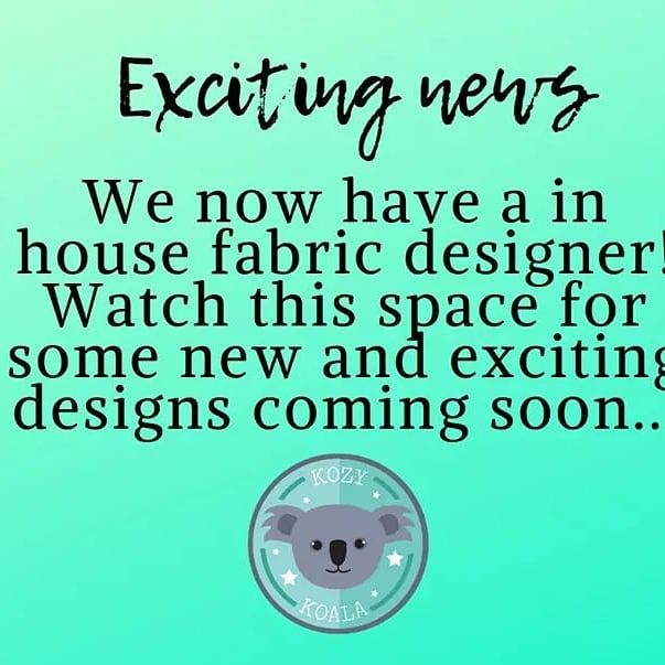 With a in-house designer now on board, were excited to get a little more creative with the fabric designs for our Sleepmats! Can't wait for you all to see what's coming soon 🙂#kozykoala #kozykoalasleepmats #kidsbedding #daycareowner #homedaycare #kindy #kidsfurniture #sleepover #camping