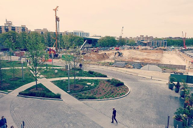 The Wharf DC.  Phase I well under way, Phase II groundbreaking beyond.  #tbt⠀ ⠀ ⠀ ⠀ ⠀ #wolfjosey #landscapearchitecture #groundbreaking @thewharfdc