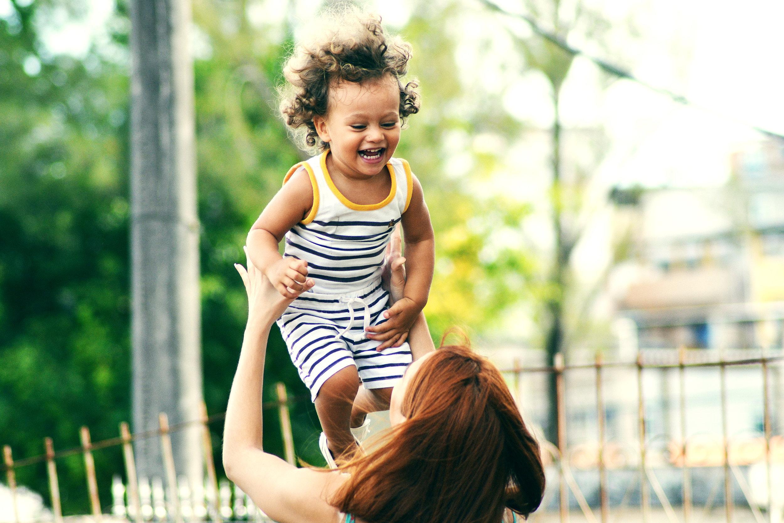 child-laughing-prevent-cavities-in-children-logan-utah