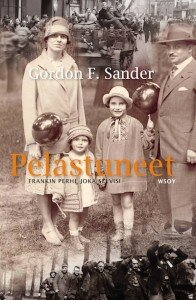 The cover of  Pelastuneet , the Finnish edition of  The Frank Family , published by WSOY in 2010