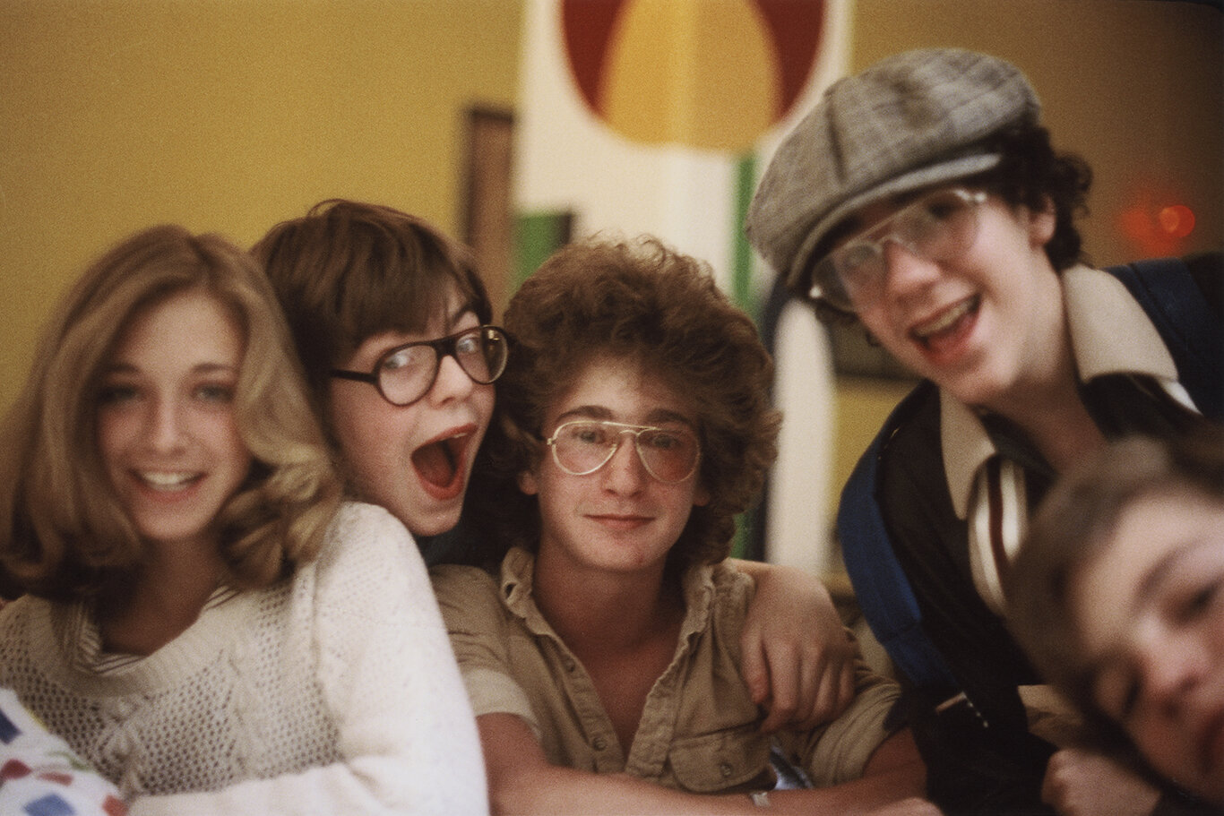 Child actors and models, Professional Children's School (1979)  —  My first speciality as a journalist/photographer was education, with an emphasis on arts education. This gave me a great excuse to hang out at cool schools, like the Professional Children's School, alma mater of Dustin Hoffman and Milton Berle and many other well-known figures in the arts and entertainment. This photo, of some of the junior thespians, models and comedians - guess who was what.