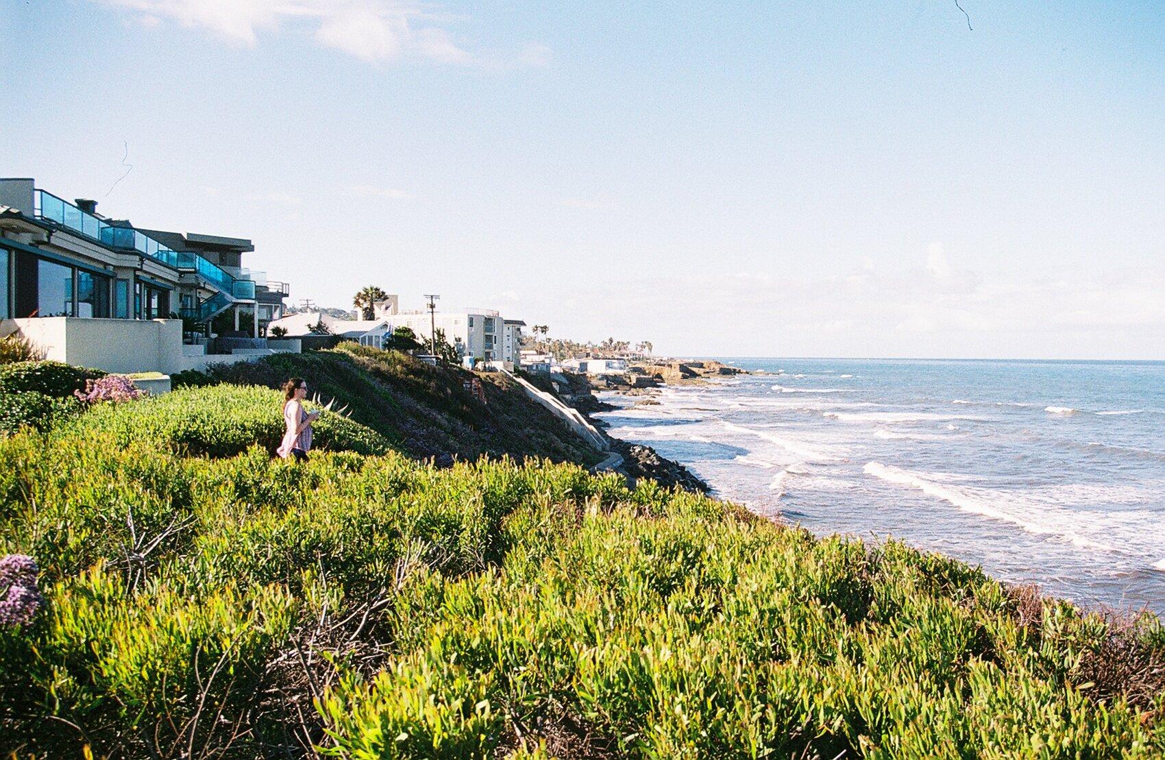 Sunrise Cliffs, Ocean Beach, California, 7:14 a.m., May 27, 2019