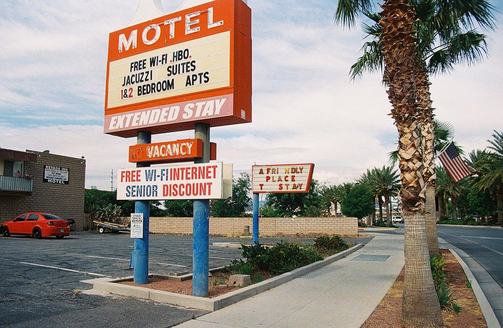 Motel Row, Boulder City, Nevada 2019