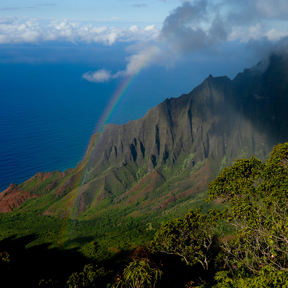 The island of Kaua'i
