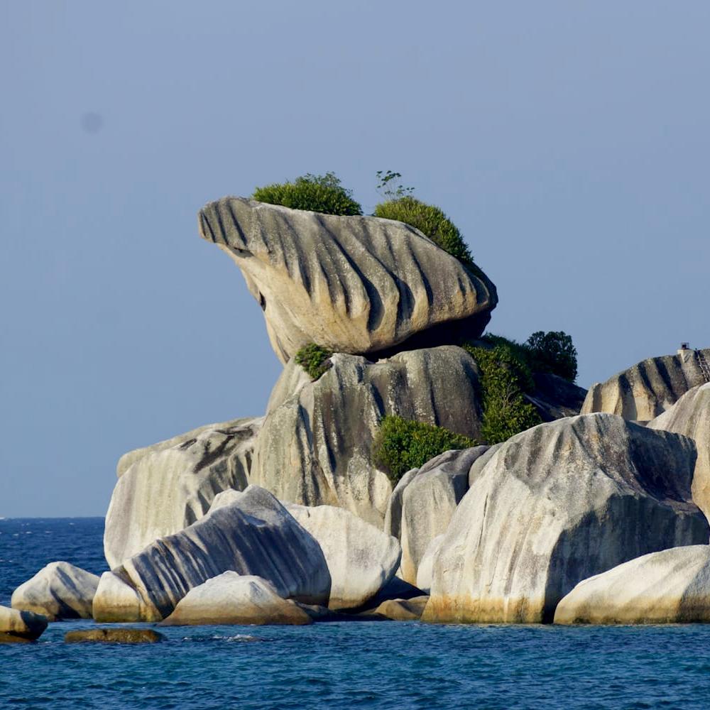 Tanjung Kelayang Trias Granite Rock -