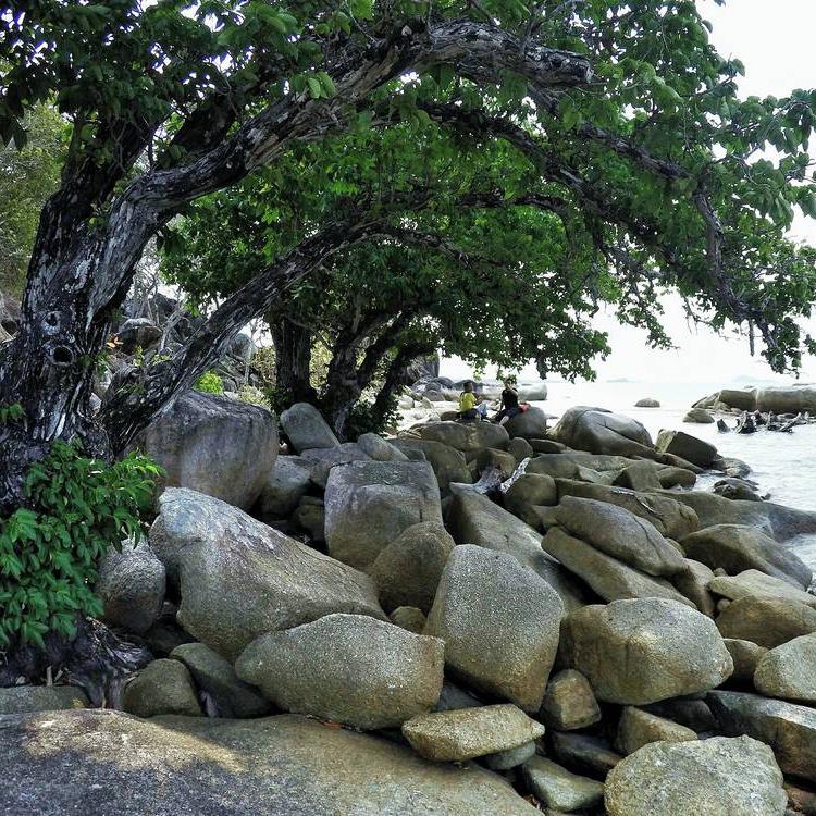 Batu Pulas Trias Granite Rocks -