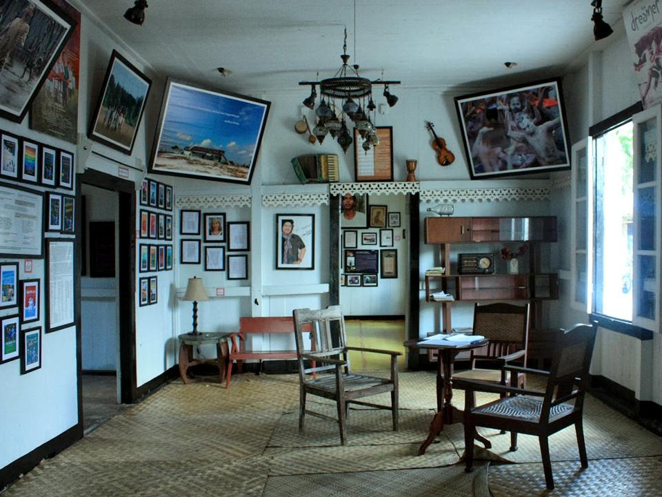 Interior of Muesum Kata