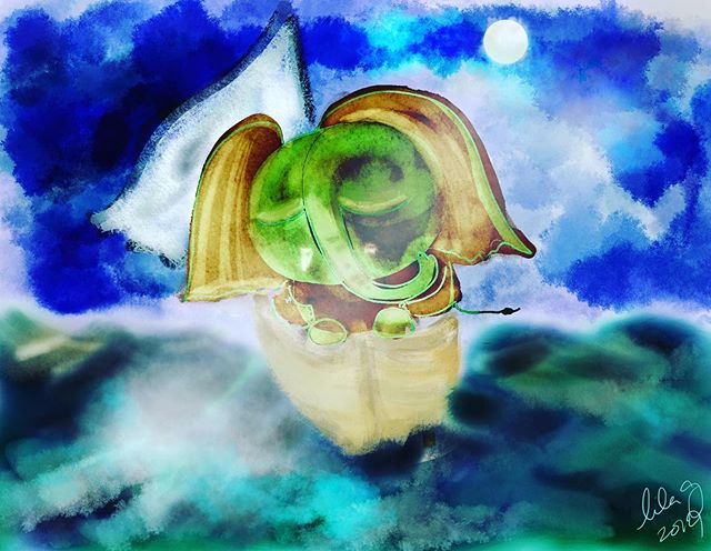 #procreate #ganesh  out to sea