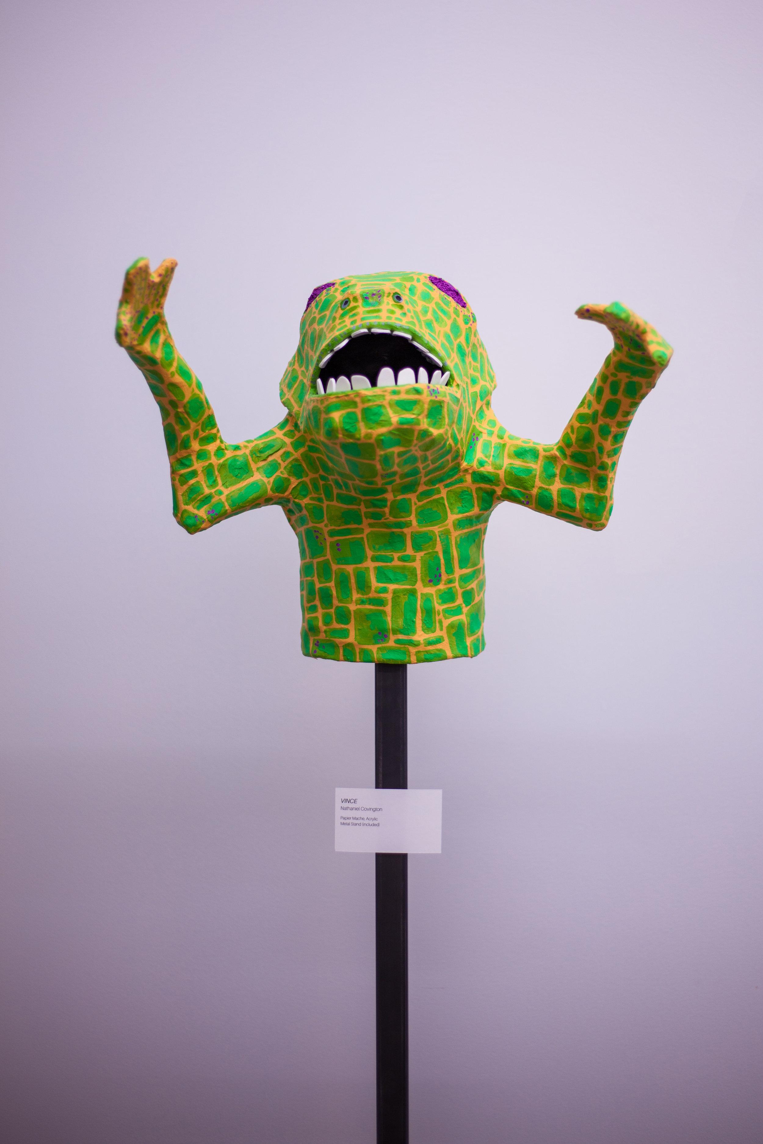 Vince Sculpture w/ Stand