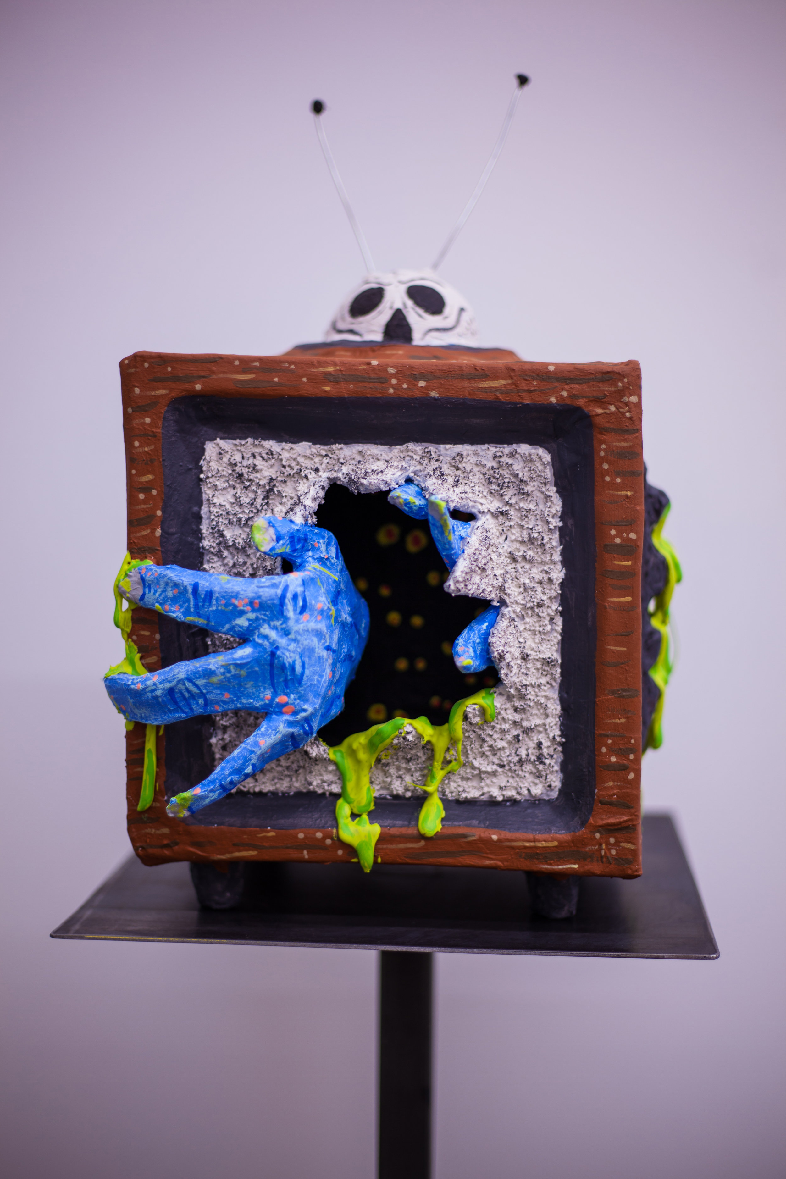 The TV Guide Sculpture w/stand