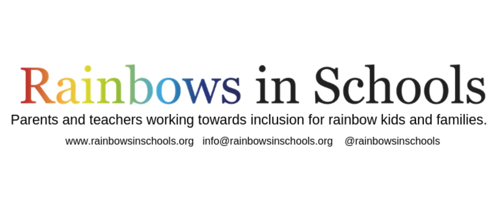 Rainbows In Schools - Find more resources on how you can celebrate Wear It Purple Day in your School