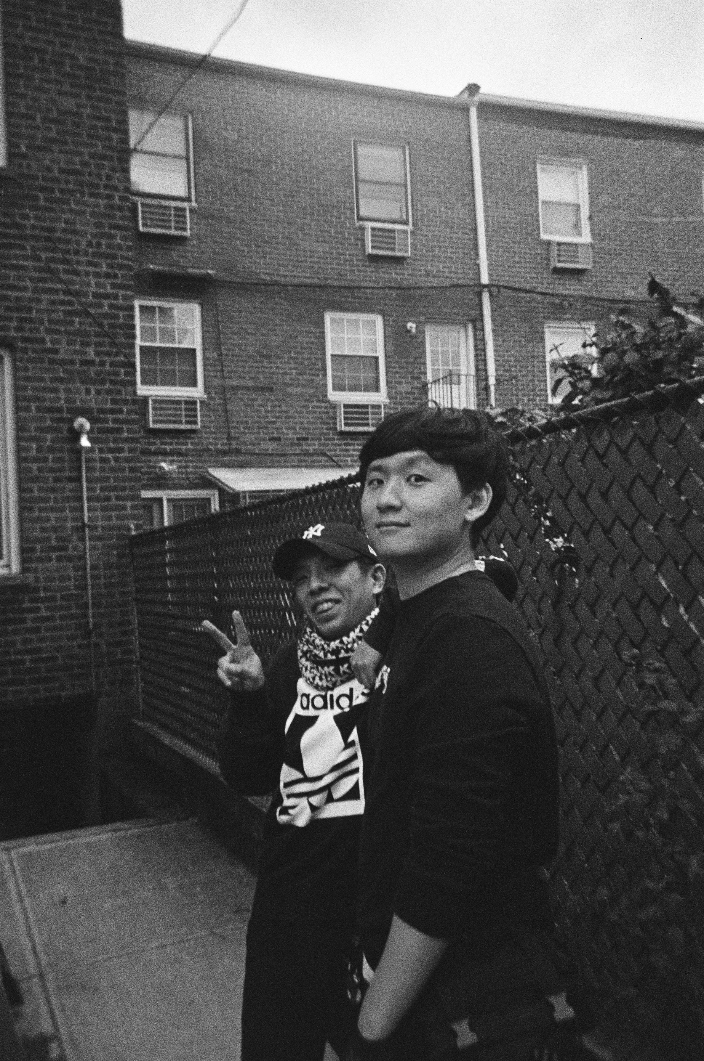 "Gaffer and Key Grip Keisuke ""Suki"" Nojima and Yoo Seok Lee"