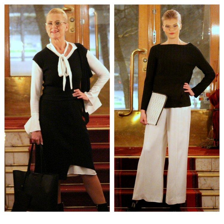 House of Dagmar dresses & trousers & knit & laptop cover, Balmuir bag