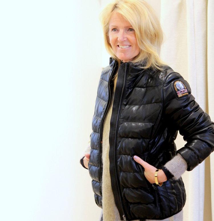 Parjumpers leather down jacket -30%  By Malene Birger bracelet