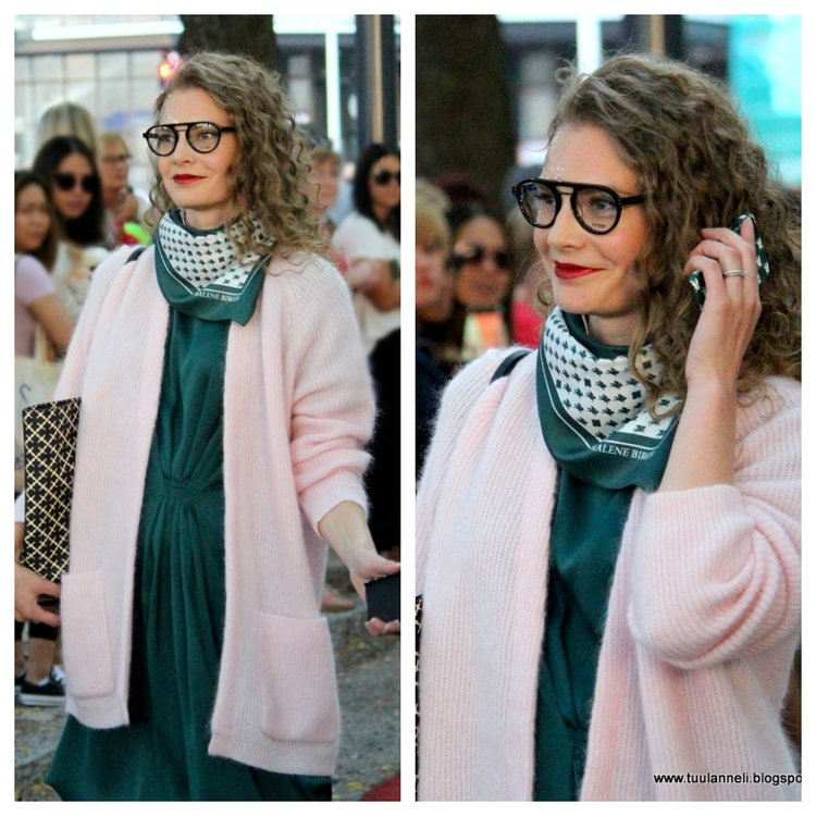 By Malene Birger cardigan, dress, scarf & bag