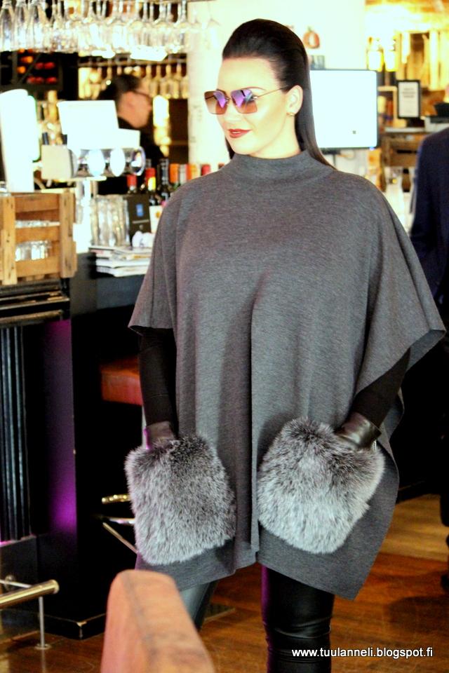 Nothern Senses by Leena Harkimo x Gemmi Cape with Fox Fur