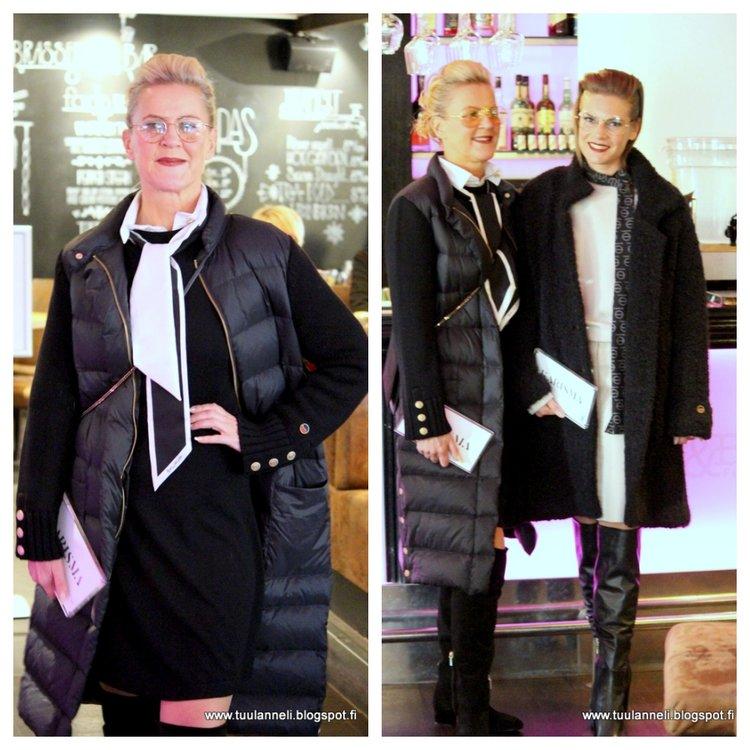 Busnel Down Coat, Fake Fur Coat & Dresses, Balmuir Bag & Scarf, AfKlingberg boots