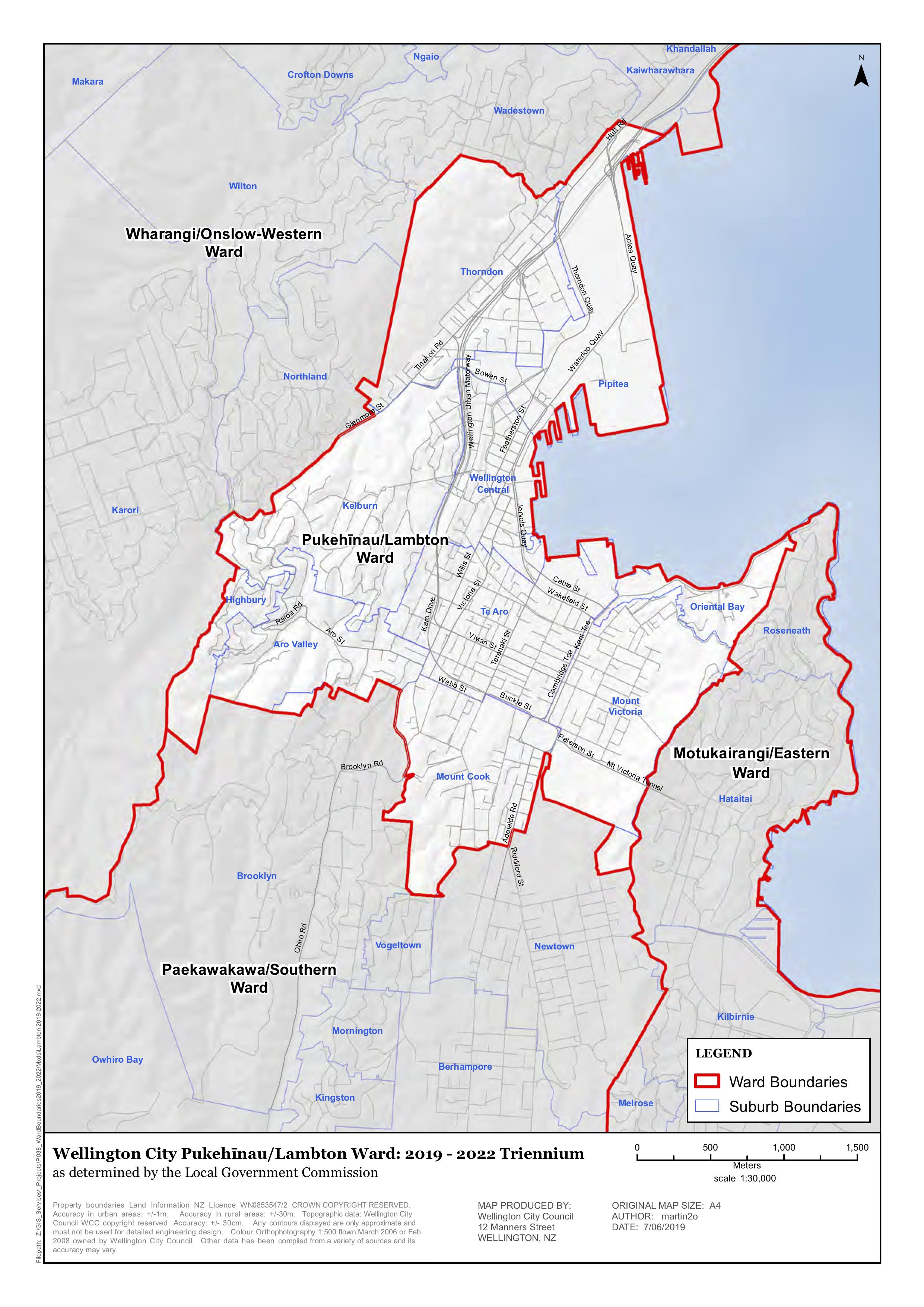 Lambton Ward Map.png
