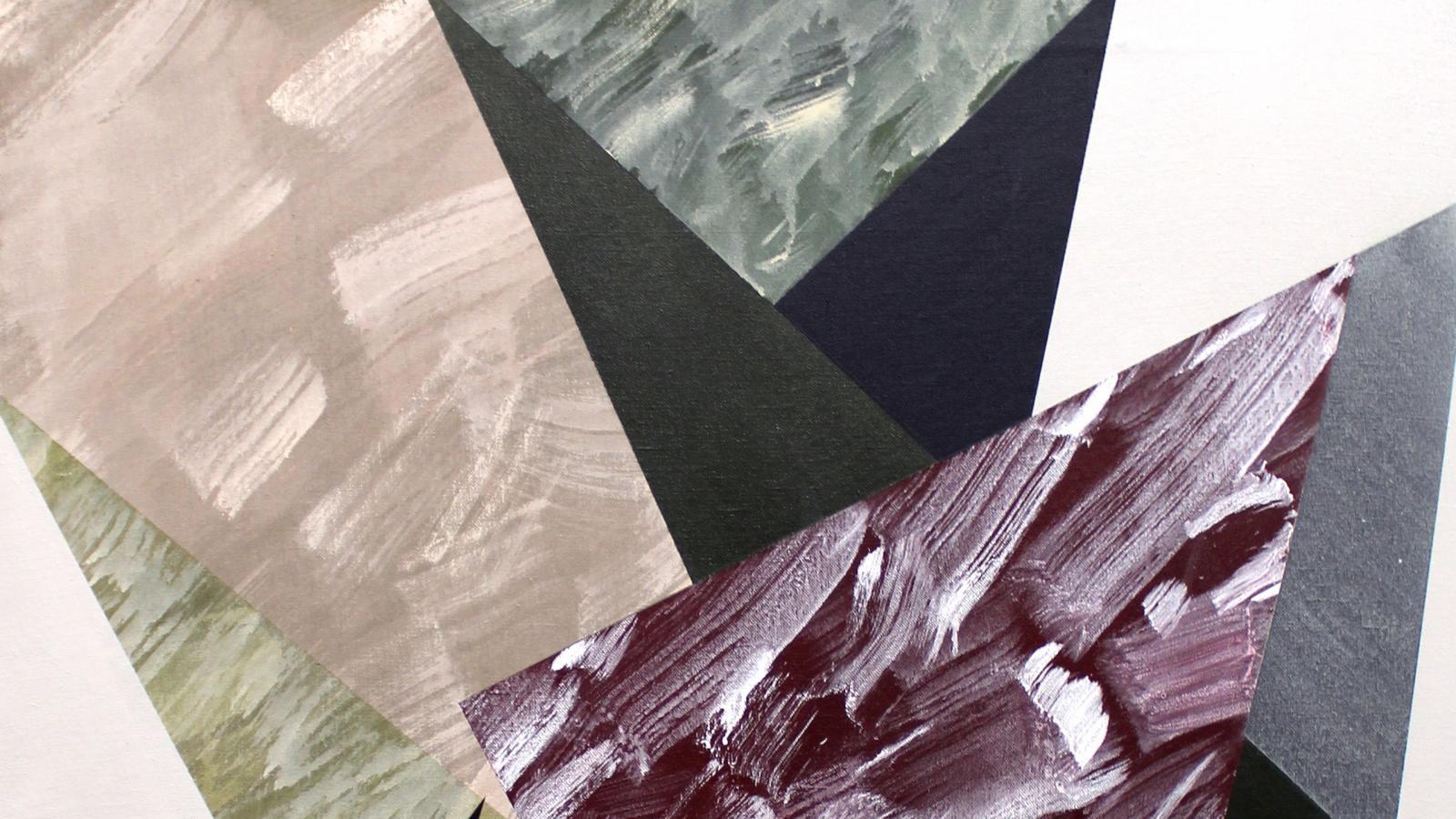 Buraindo , Acrylic on fabric, 100 × 85 × 3 cm