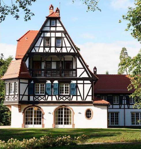 Villa Lalique, Alsace, France.