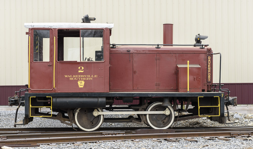 #2 Davenport utility engine and Switcher