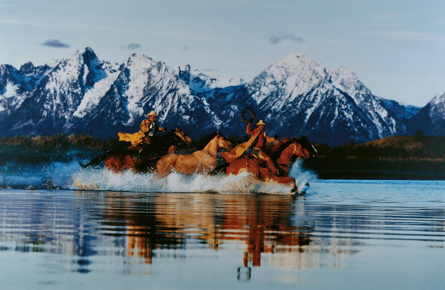 Richard Prince, Untitled (cowboy), 1998, color photography, photo: Wilfried Petzi
