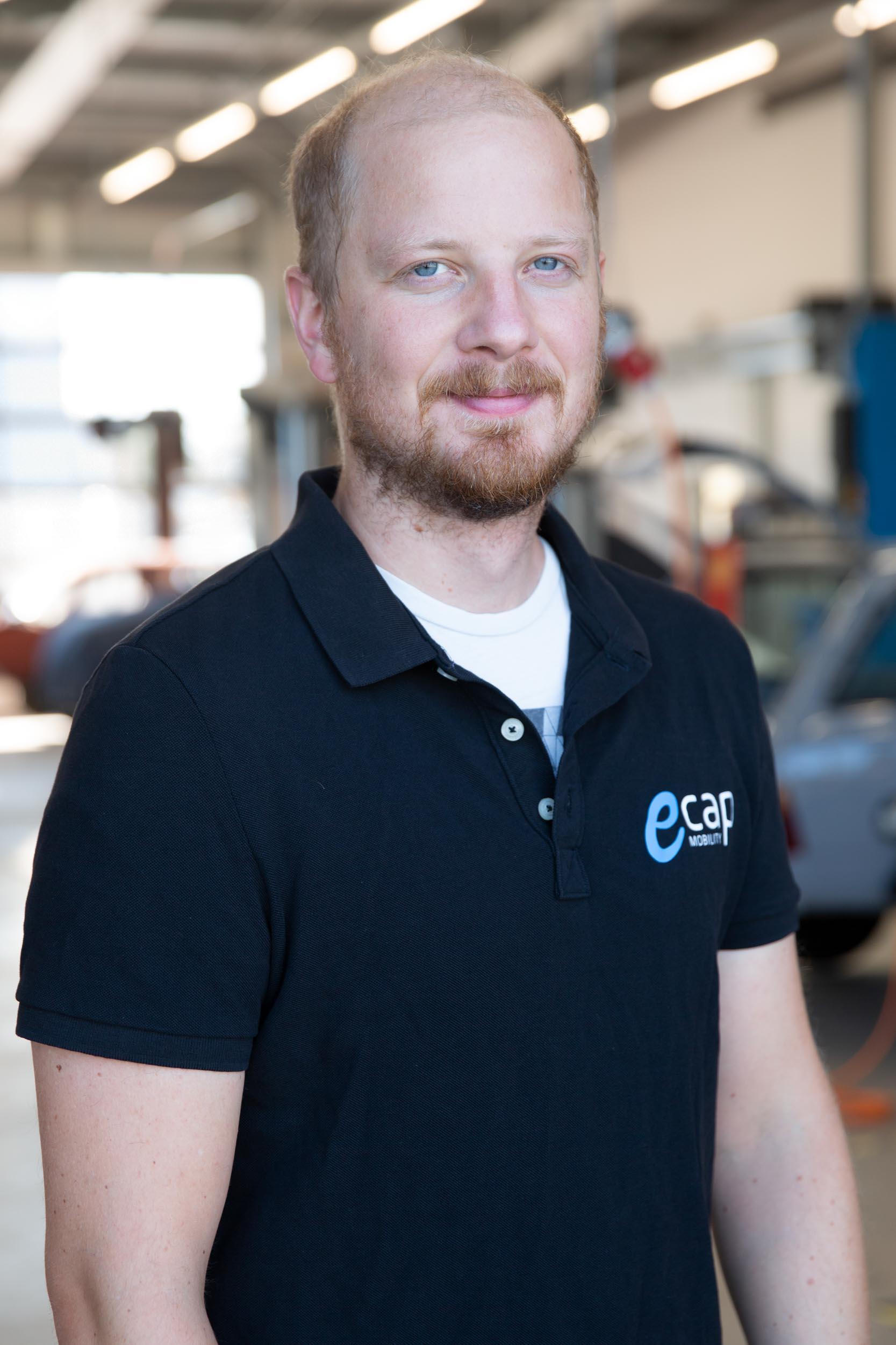 Martin Pruscha | Software Development mpr@ecap-mobility.com