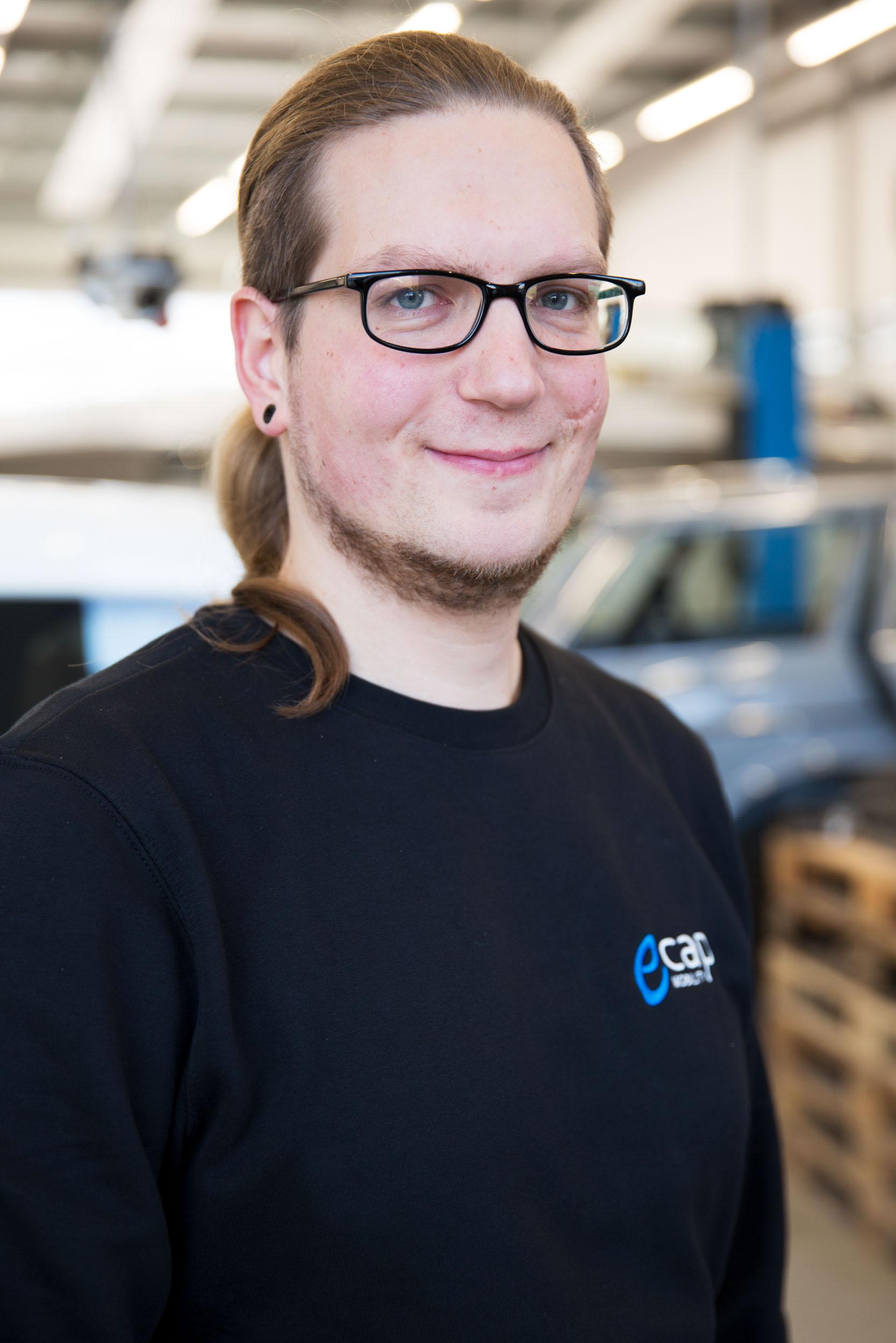 Daniel Wagenknecht | Software Development dwa@ecap-mobility.com