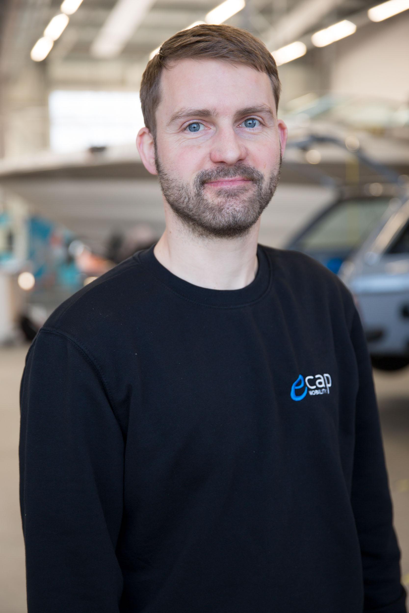 Lars Ewert | Master Mechanic lew@ecap-mobility.com