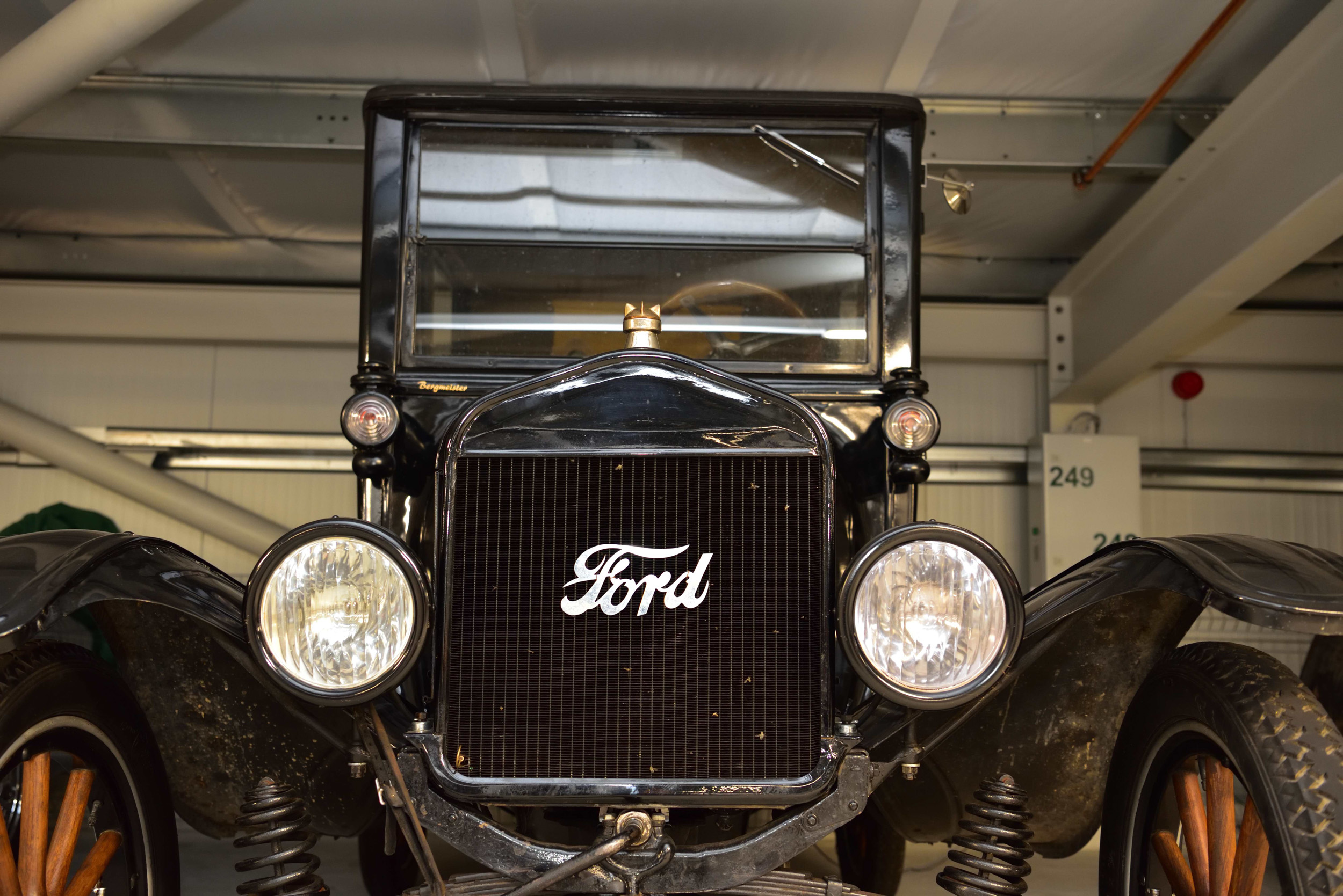 """""""The origins of the automobile: A Ford built in ancient times."""""""