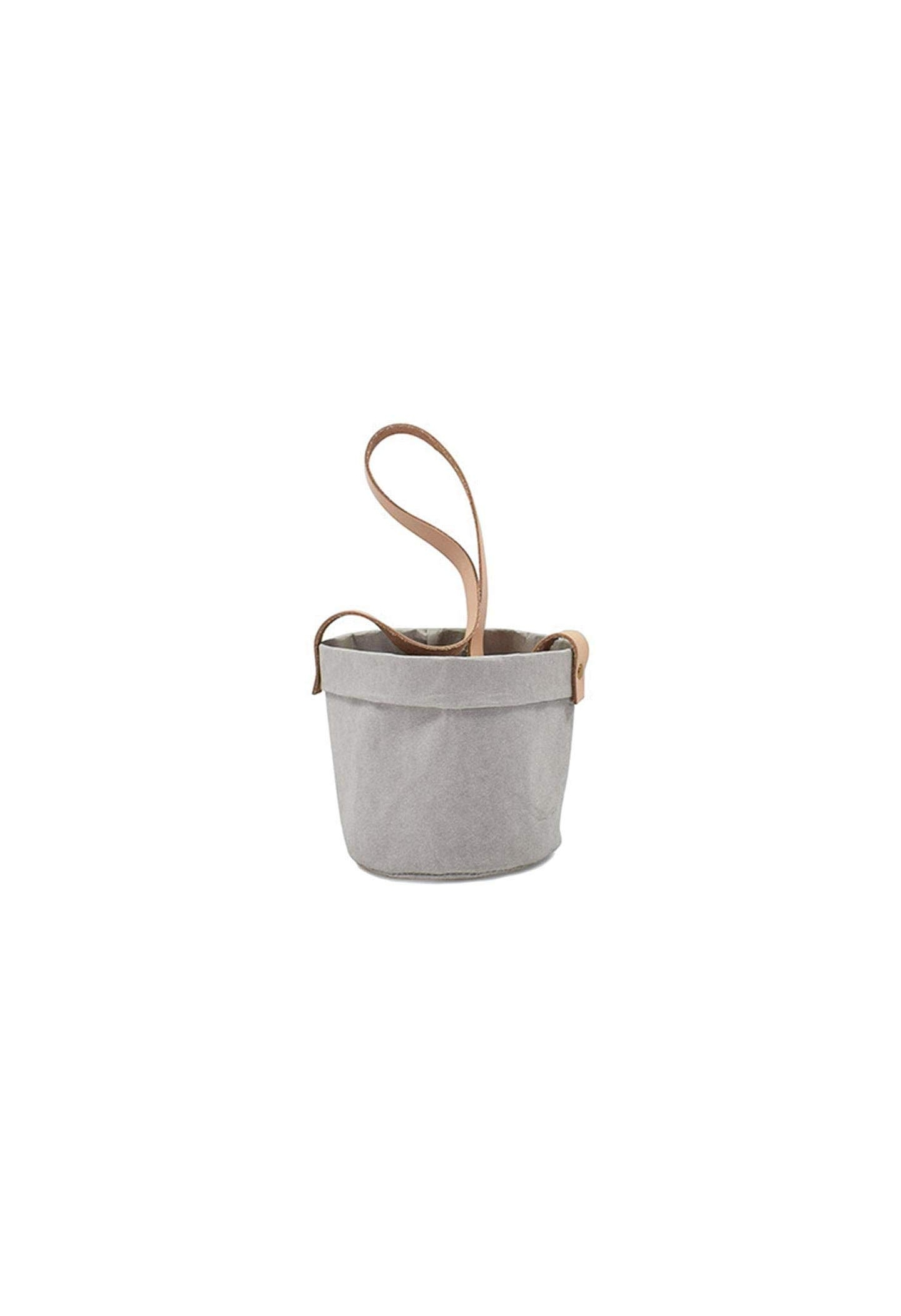 HANGING PAPER PLANT SACKS WITH LEATHER STRAP - SHOP STYLES