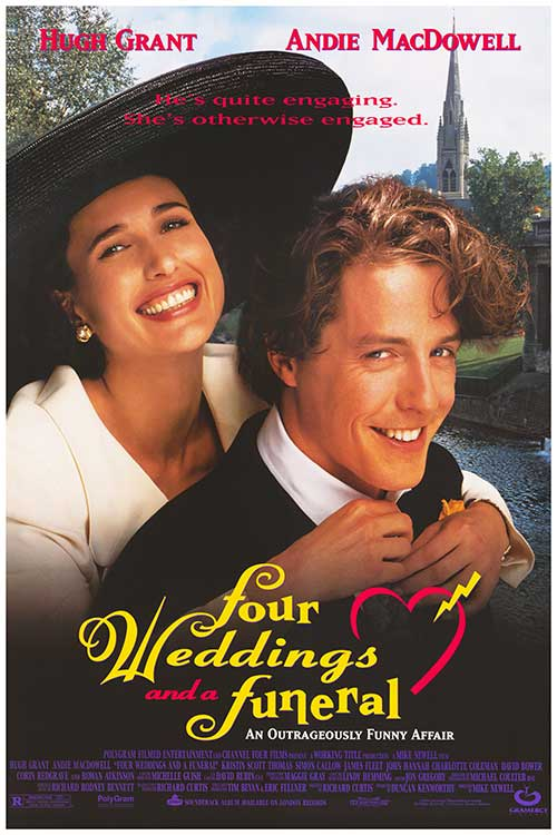 "S1 E3 ""we HAD IT MADE SPECIAL"" - This time out, we're talking about the sublime romantic-comedy Four Weddings and a Funeral, from 1994. Daniel had never seen it, which was an absolute crime, but he loved it. Spoilers! We talk about Andie MacDowell's attempt to look lifelike, the heartbreaking performances, and the 14-minute reunion film that the cast made for Red Nose Day. Come for the movie, stay for the big hats.Listen and subscribe here."