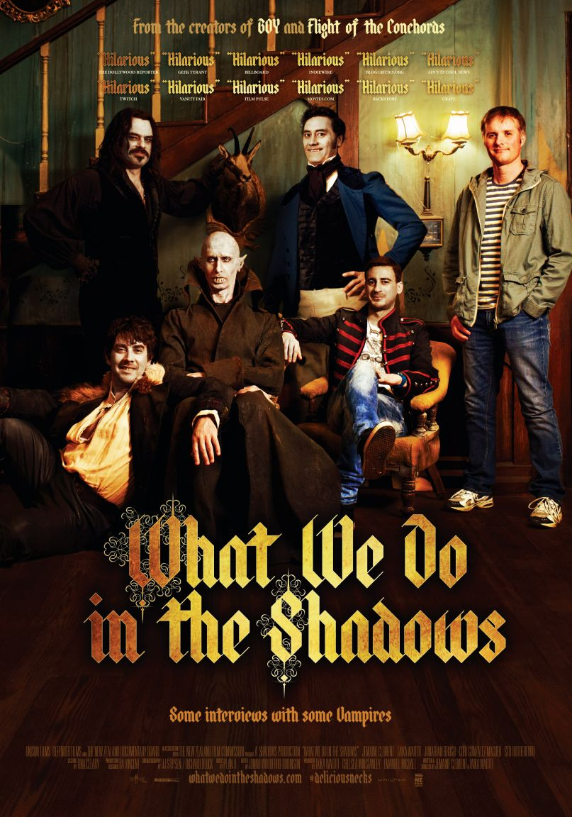 """S1 E6 """"Vampires don't do dishes!"""" - Let this meeting of the Taika Waititi Fan Club come to order! This week, Tracy sees What We Do in the Shadows for the first time. We talk comedy, vampires, Daniel's thoughts on ocean life, and New Zealand mockumentaries. Plus there's singing! (Sorry.) Get a chicken for Petyr and listen now!Listen and subscribe here."""