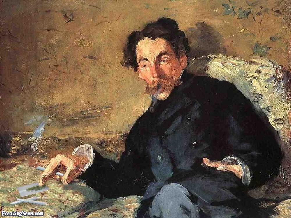 Man-Smoking-Marijuana-in-Manet-Painting-94688