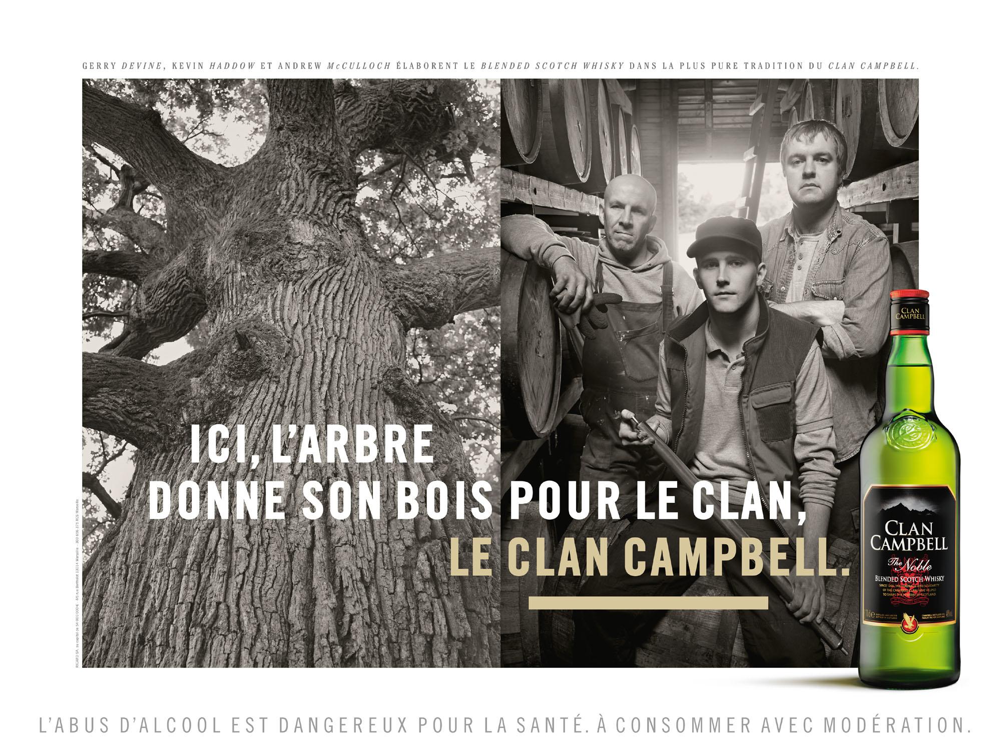 Jésus pour Clan Campbell - whisky - novembre 2013
