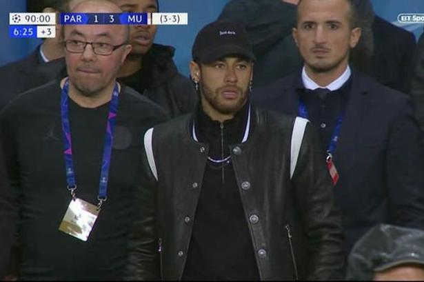 Neymar PSG Manchester