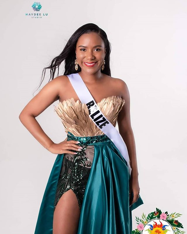 Miss Belize Photos by @haydeelustudio
