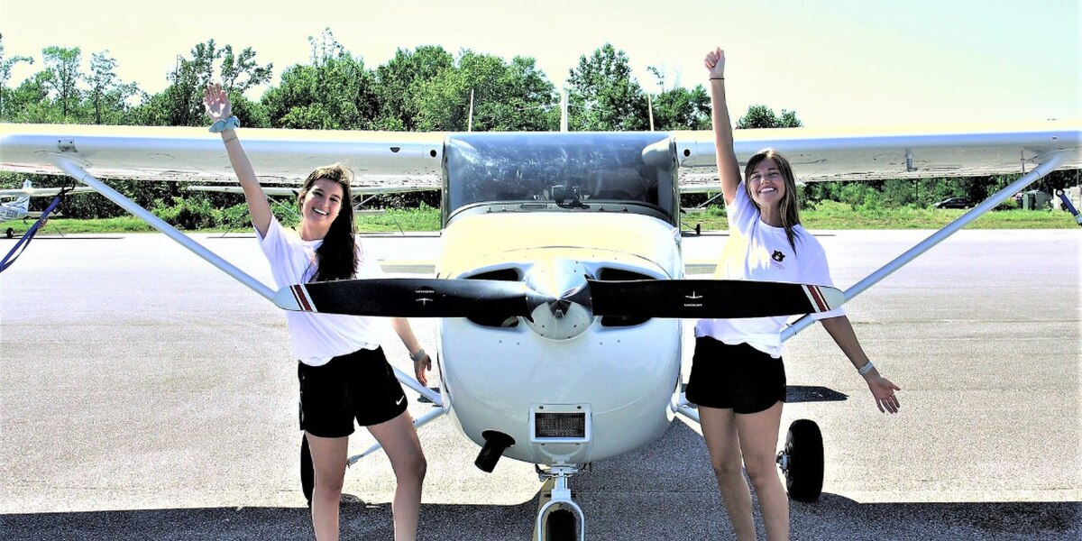 Auburn Pilots take top honors - Auburn pilots won 1st place among college teams and 2nd place overall in the Air Race ClassicRead Story
