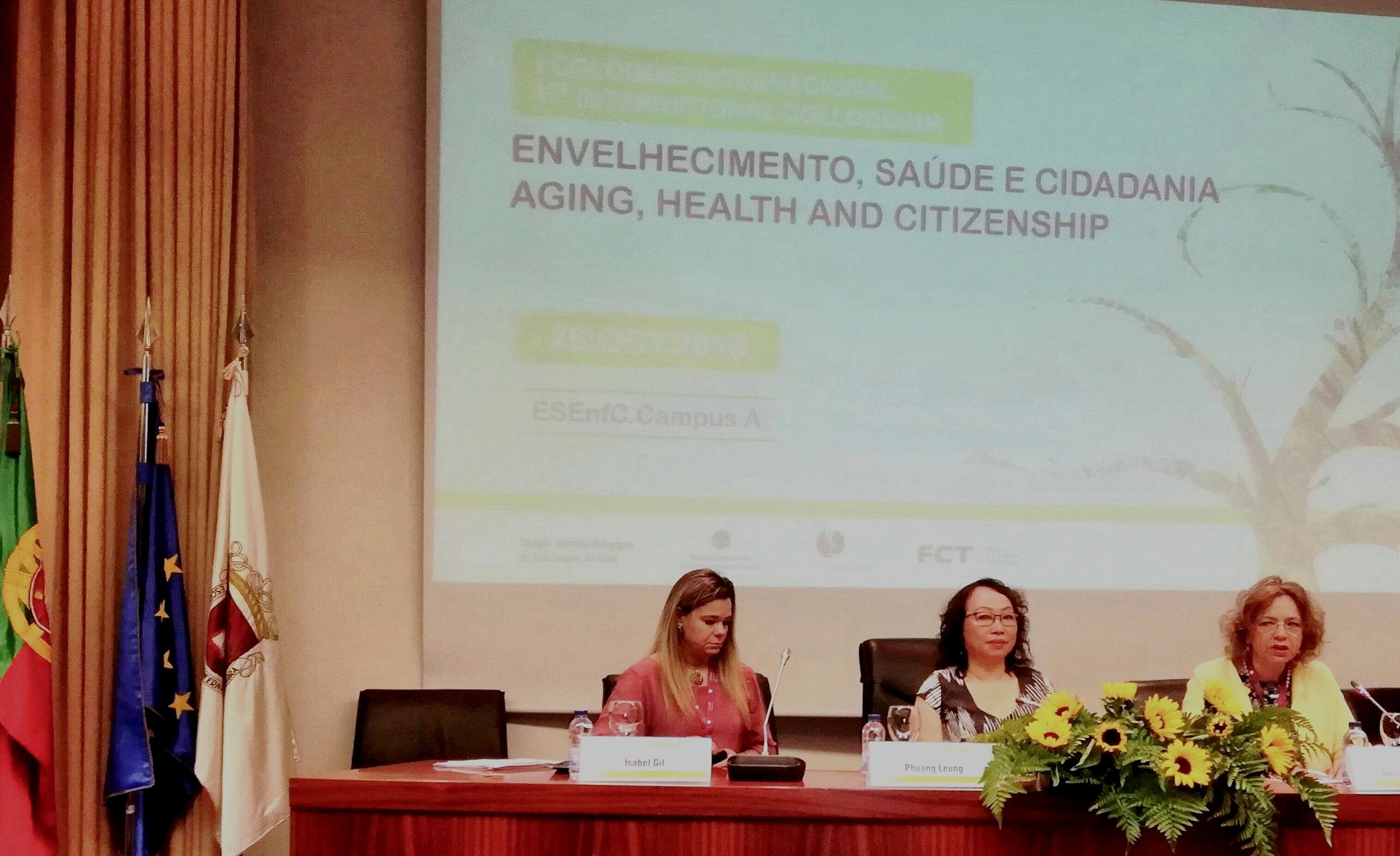 """1st International Colloquium """"Aging, Health and Citizenship"""" conference in Coimbra Portugal"""