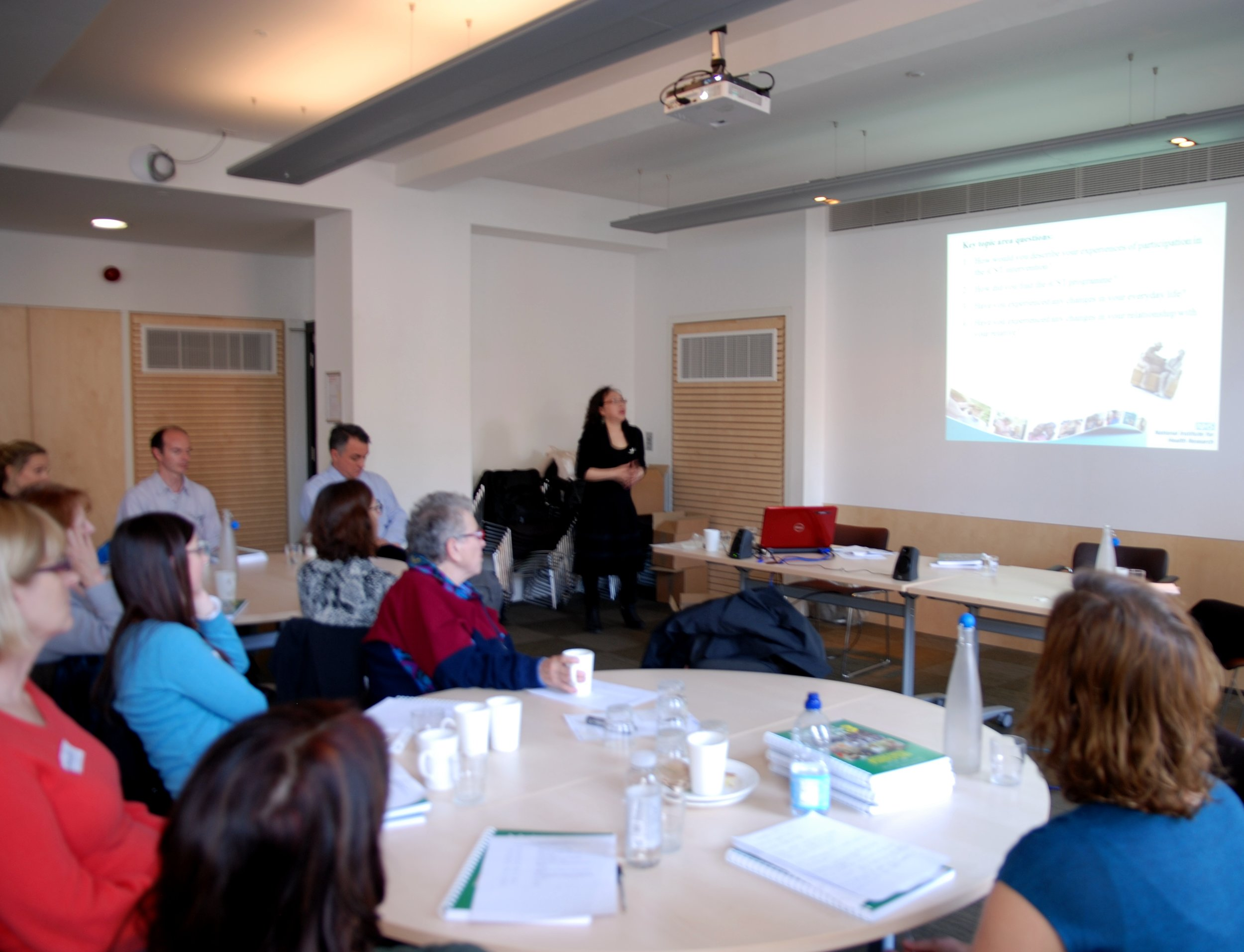 Dr Phuong Leung disseminated iCST research findings to the iCST research team at University College London
