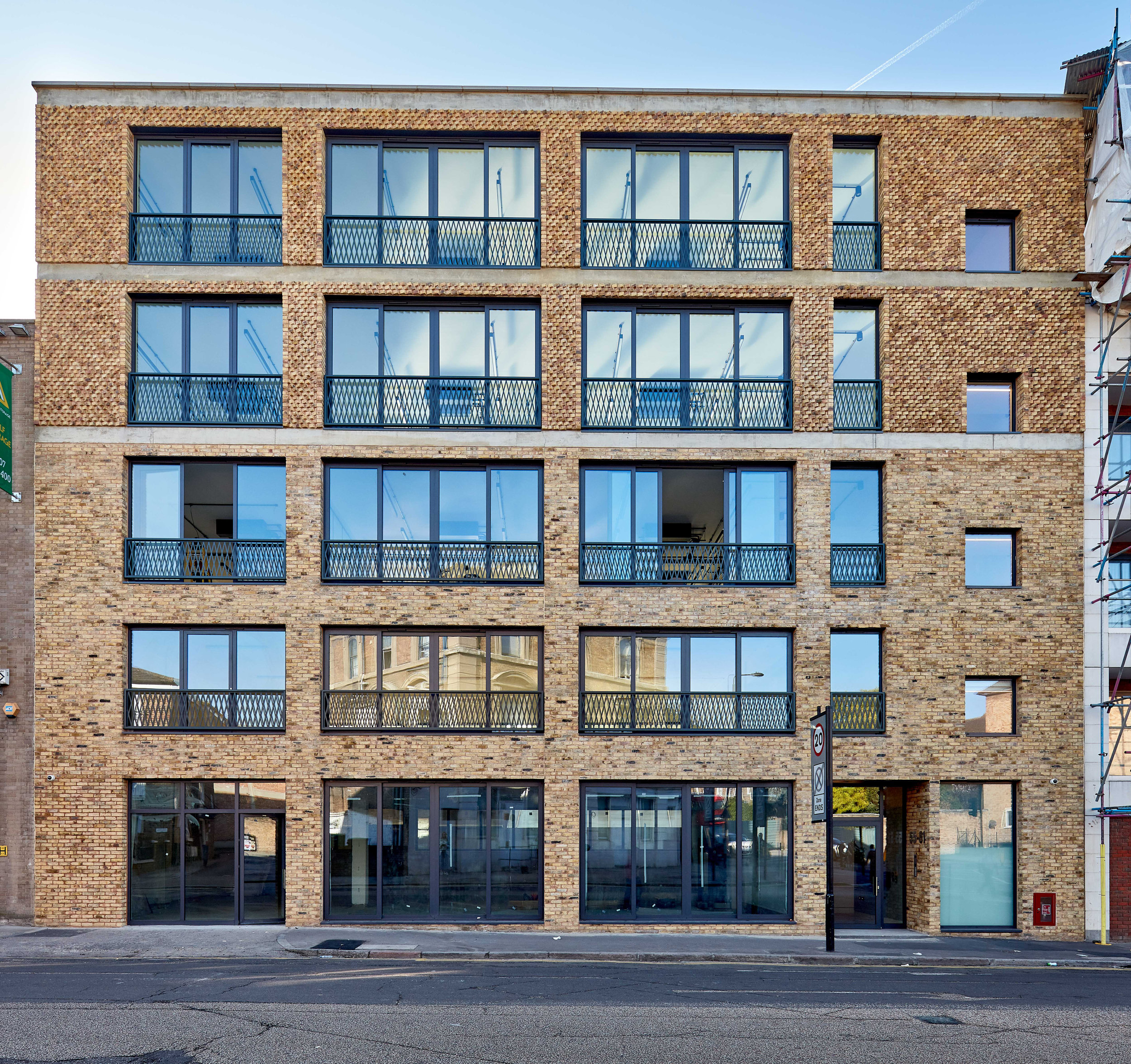 the brewery building, king's cross - The Brewery Building occupies a prominent position on the corner of Brewery Road and York Way, a short walk from The Granary Complex at King's Cross.Planning consent was granted for a 2 storey extension to the existing property, which Atlas implemented to completion within 12 months.Designed by award winning practice Squire & Partners, the building offers over 11,000sqft of B1 and B1c space, designed with innovative business in mind.