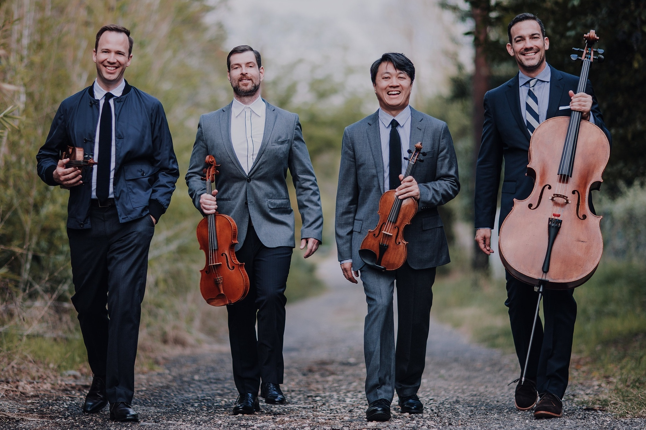 MIRO QUARTET &ANTHONY McGILLOpening Night Sep14 -